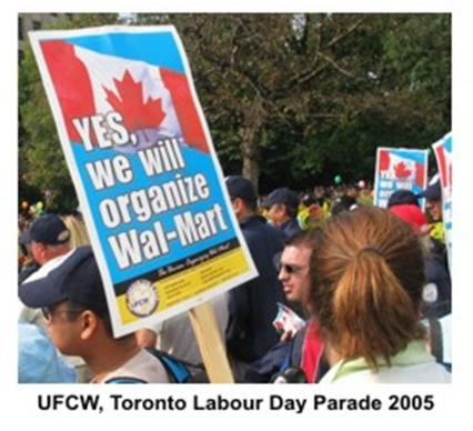 image of UFCW Toronto Labour day parade, 2005