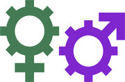 Gender & Work  Database icon